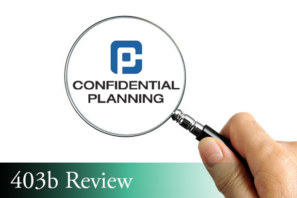 confidential planning 403b review